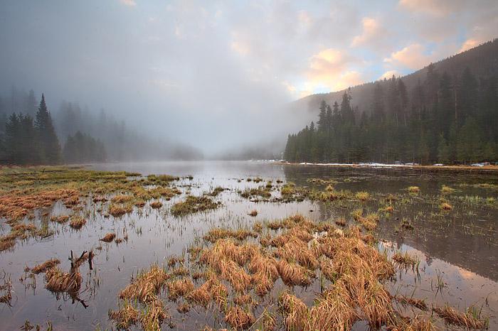 Sunrise at Cub Lake