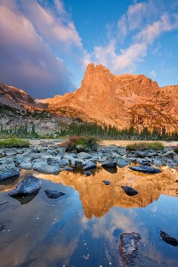 Sunrise at Lake Helene, Rocky Mountain National Park, Colorado