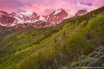 Bierstadt Moraine,RMNP,Bear Lake Road,Hallett Peak,Otis Peak,Flattop Mountain,Sunrise,June,Spring,Aspens,Estes Park,Colorado,Rocky Mountain National Park,Landscape,Photography