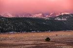 Rocky Mountain National Park,Bear Lake Road,Moraine Park,Colorado,March,RMNP,Estes Park,Landscape,Photography,Sunrise,Big Thomspon River,Spring,Thatchtop Mountain,Taylor Peak,Otis Peak,Hallett Peak,Fl