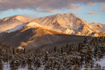 Ypsilon Mountain,Mummy Range,Trail Ridge Road,October,Snow,Sunrise,RMNP,Landscape,Photography,Colorado,Rocky Mountain National Park,Estes Park