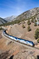 Amtrak, Train, California Zephyr, Colorado, Wasatch, Sierra Nevada, Oakland, Chicago