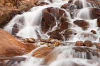 Alluvial Fan, Falls, Roaring River, Lawn Lake, Rocky Mountain National Park, Colorado, Dam