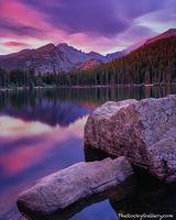 Bear Lake, Sunrise, Longs Peak, Rocky Mountain National Park, Alpine Lakes, Estes Park, Hallet Peak