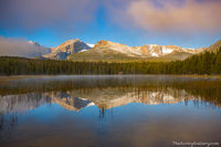 RMNP,Rocky Mountain National Park,Bear Lake Road,Colorado,Estes Park,Landscape,Photography,Bierstadt Lake,Sunrise,September,Fog,Hallett Peak,Flattop Mountain,Notchtop Mountain,Otis Peak,fog,Continenta