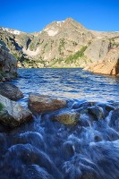 Bluebird Lake,Wild Basin,Colorado,William S. Cooper,Rocky Mountain National Park,Arbuckle Resevoir