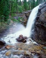 Rocky Mountain National Park, Colorado, Bridal Veil Falls, Cow Creek, Waterfall, Spring