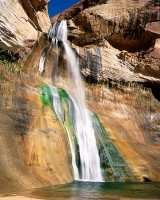 Utah, Grand Staircase, Escalante, National Monument, Lower Calf Creek Falls