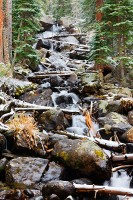 Calypso Cascades,Wild Basin,waterfall,Rocky Mountain National Park,Colorado,snow