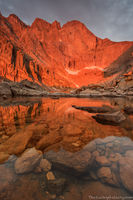 Longs Peak,14,259ft,14er,Chasm Lake,sunrise,landscape,photography,RMNP,Rocky Mountain National Park,Colorado,The Diamond,Longs Peak Trailhead,Estes Park,icon