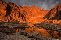 Chasm Lake,Longs Peak,Trailhead,14,259 ft,14er,Rocky Mountain National Park,Colorado,Rocky,RMNP,Estes Park,Landscape,Photography,Dramatic,hike,climb,sunrise,The Diamond,Stormy,August,Summer,icon,iconi