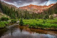 Glacier Creek, Chiefs Head Peak,RMNP,Estes Park,Rocky,Rocky Mountain National Park,Landscape,Photography,Bear Lake Road,Glacier Gorge,Sunrise,Black Lake,The Spearhead,July