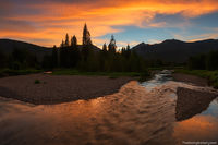Colorado,River,RMNP,Kawuneeche Valley,Rocky Mountain National Park,Landscape,Photography,Sunset,Water,Headwaters,Grand Lake,Trail Ridge Road,West Side