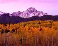 Mt. Sneffels, Telluride, Ouray, Ridgeway, Fall Color, San Juans, 14'er, Aspens
