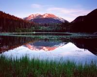 Rocky Mountain National Park, Colorado, Cub Lake, Stones Peak, Spring