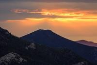 Colorado,Rocky Mountain National Park,Mummy Range,Lumpy Ridge,Sunrise,Dark Mountain,Trail Ridge Road