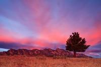 Boulder,Colorado,Doudy Draw,Flatirons,Open Space,sunrise