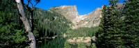 Rocky Mountain National Park, Estes Park, Dream Lake, Hallet Peak, Longs Peak, Glacier Gorge, Trail