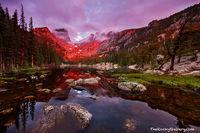 Dream Lake, Rocky Mountain National Park, Colorado, Hallett Peak, Sunrise,Bear Lake Trailhead,Reflection,Estes Park,RMNP,Landscape,Photography,Flattop Mountain