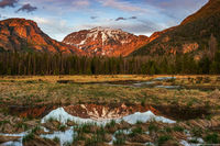 East Inlet,RMNP,Rocky Mountain National Park,Colorado,Sunset,Landscape,Photography,Mount Craig,Mount Baldy,Spring,June,Grand Lake,Trail Head