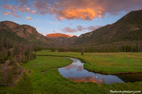 East Inlet,Grand Lake,Colorado River,Rocky Mountain National Park,Colorado,Photography,Landscape,Sunset,Moon,moonrise,RMNP,Moose,Meadow,West Side,Mount Craig,Mount Baldy,Stream