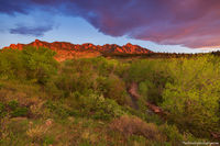 Eldorado Springs, South,Boulder,The Flatirons,Sunrise,South Boulder Creek,Landscape,Photography,May,Colorado,OSMP,Open Space and Mountain Parks
