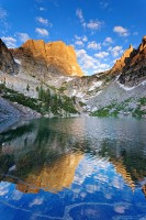 Emerald Lake, Rocky Mountain National Park, Hallet Peak, Colorado,reflections,hallet peak