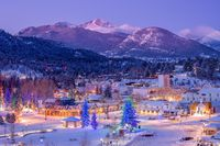 Estes Park Winter Wonderland