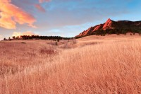 Flatirons, Boulder, Colorado, Chautauqua Park, Autumn, Open Space, OSMP