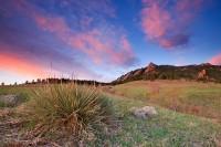 Boulder, Colorado, Flatirons, Sunrise, Open Space, OSMP, Spring, Chautauqua Park