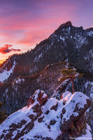 Crown Rock,OSMP,Boulder,Colorado,The Flatirons,Sunrise,Dramatic,December,Landscape,Photography,Gregory Canyon,Tree,Snow,Open Space And Mountain Parks,