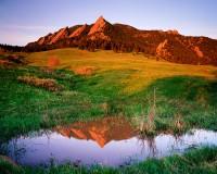 Boulder, Colorado, Flatirons, Sunrise, Chautauqua Park, OSMP, Open Space and Mountain Parks
