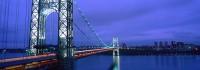 George Washington Bridge, I-95, New York, New Jersey, Bridges, Hudson River, New York City