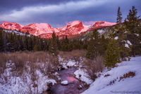 Glacier Creek,Hallett Peak,Flattop Mountain,May,Otis Peak,Taylor Peak,Bear Lake Road,Sunrise,Estes Park,Landscape,Photography,Snow,Bierstadt Moraine,Storm Pass