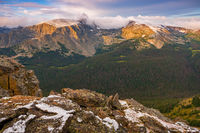 Gorge Lakes,Arrowhead Lake,Forest Lake,Rock Cut,Trail Ridge Road,Estes Park,Grand Lake,August,Snow,Mount Ida, Terra Tomah,Forest Canyon,Colorado,RMNP,Rocky Mountain National Park,Landscapes,Photograph