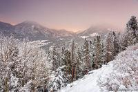 Deer Mountain,McGregor Mountain,Snow,November,Horseshoe Park,Trail Ridge Road,Sunrise,Estes Park,Fall River,RMNP,Rocky Mountain National Park,Colorado,Landscape,Photograph
