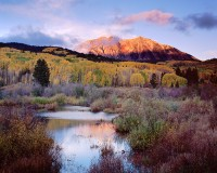 East Beckwith, Kebler Pass, Crested Butte, Fall Color, Aspens, Mountains, Gunnison
