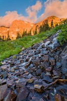 Boulder, Indian Peaks Wilderness, Shoshone Peak, Brainard Lake