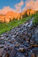 Boulder, Indian Peaks Wilderness, Shoshone Peak, Brainard Lake