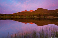 Lily Lake,Isabella Bird,Rocky Mountain National Park,Colorado,Estes Park,Tahosa Valley,Mount Meeker,Longs Peak,Estes Cone,Sunrise,Landscape,reflections,rmnp,Estes Park,Photography