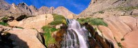 Rocky Mountain National Park, Colorado, Longs Peak, Columbine Falls, Front Range, Diamond