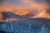 Longs Peak,Trail Ridge Road, Estes Park, 14er, Sunrise,Clouds,Weather,Rocky Mountain National Park,Colorado,RMNP,Landscape,Photography,The Diamond,March