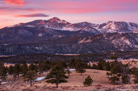 Upper Beaver Meadows,Longs Peak,Moraine Park,Sunrise,Landscape,Photography,RMNP,Colorado,Rocky Mountain National Park,Trail Ridge Road,Estes Park,March,Deer Mountain