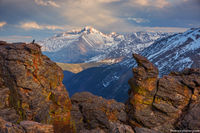 Longs Peak,Trail Ridge Road,The Rock Cut,Estes Park,Grand Lake,Sunset,Landscape,Photography,Rocky Mountain National Park,Colorado,RMNP,Raven,June