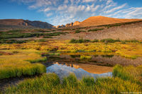Longs Peak,Mount Meeker,Tarn,Fall,Autumn,Longs Peak Trailhead,Landscape,Photography,Rocky Mountain National Park,RMNP,Estes Park,14,259ft,14er,Sunrise,Reflection,September,tundra,treeline