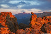 Rocky Mountain National Park, Colorado, Longs Peak, Rock Cut, Trail Ridge Road,sunset,view,forest canyon,specimen mountain,Estes Park,RMNP,Landscape,Photography