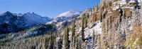 Rocky Mountain National Park, Longs Peak, Colorado, Snow, McHenry's Peak, Glacier Gorge