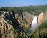 Grand Canyon, Yellowstone National Park, Wyoming, Lower Falls