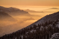 Fall River,Lumpy Ridge,Rocky Mountain National Park,RMNP,Colorado,Landscape,Photography,February,Sunrise,Estes Park,Inversion,Fog