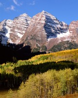 Aspen, Colorado, Maroon Bells, Fall, Aspens, White River National forest